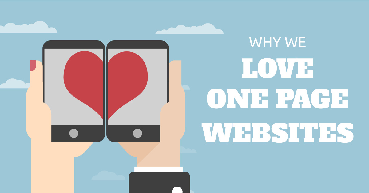 One-Page Websites: What's Not to Love?
